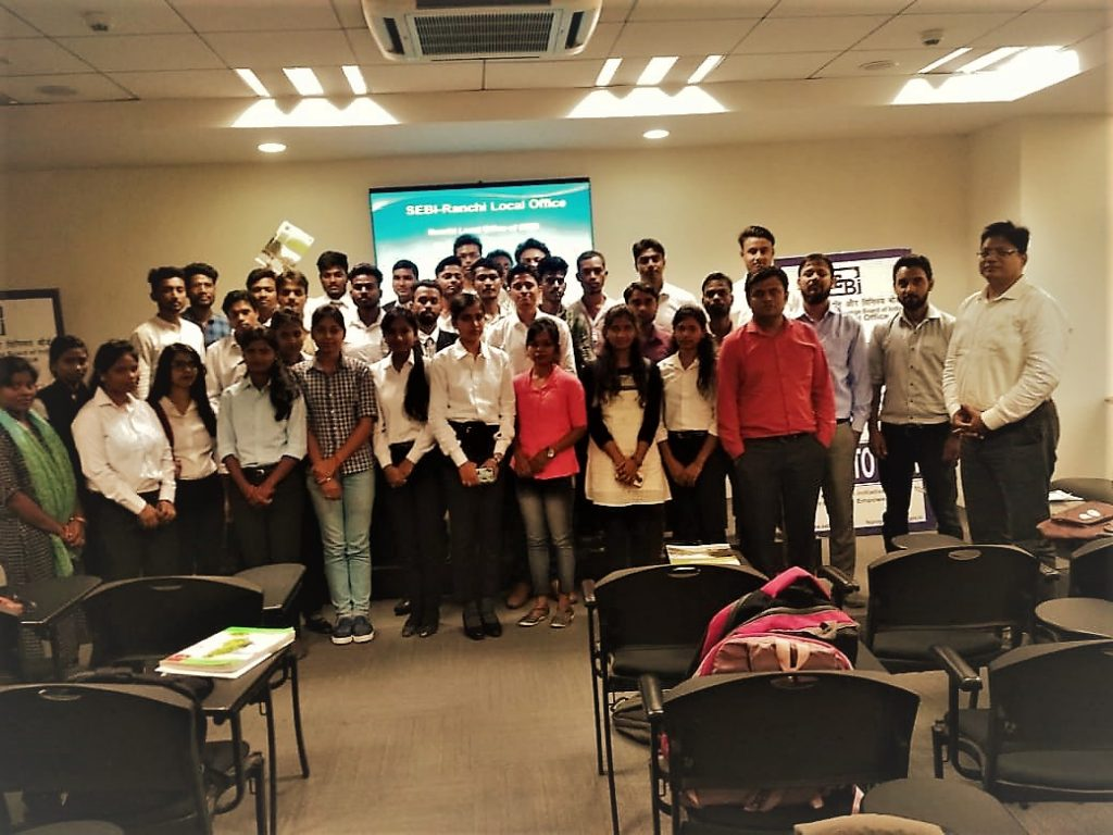 SEBI INDUSTRIAL VISIT JR UNIVERSITY RANCHI