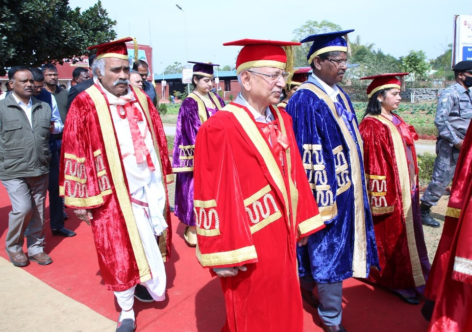 UNIVERSITY CONVOCATION RANCHI STUDENTS