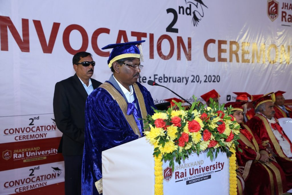 UNIVERSITY CONVOCATION CEREMONY AT RANCHI STUDENTS