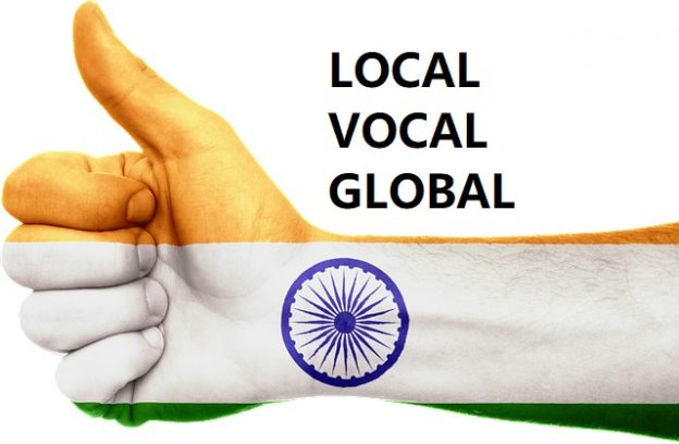 PM MODI LOCAL VOCAL GLOBAL