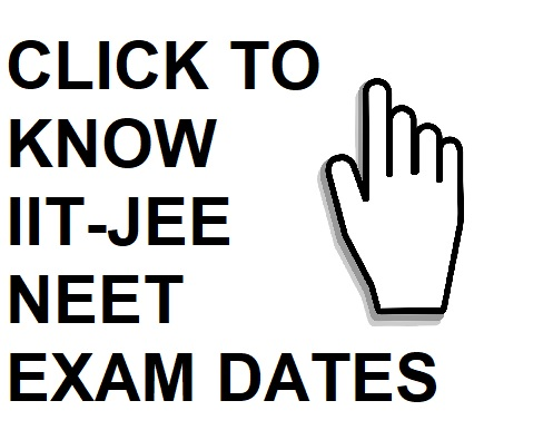 IIT JEE NEET EXAM DATES 2020