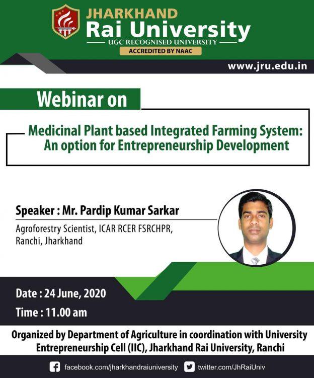 Webinar Agriculture 24 June