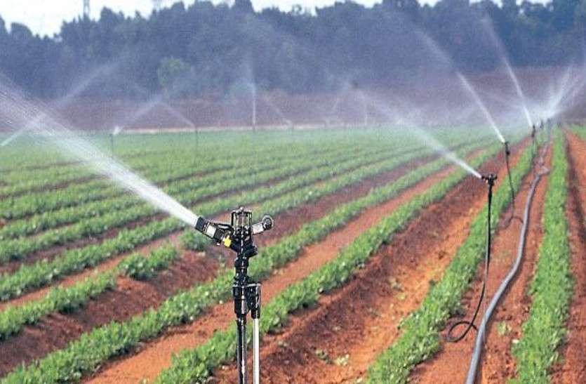 स्प्रिंकलर सिंचाई में पानी की खपत हो कम और किसानों को मिले भरपूर फसल