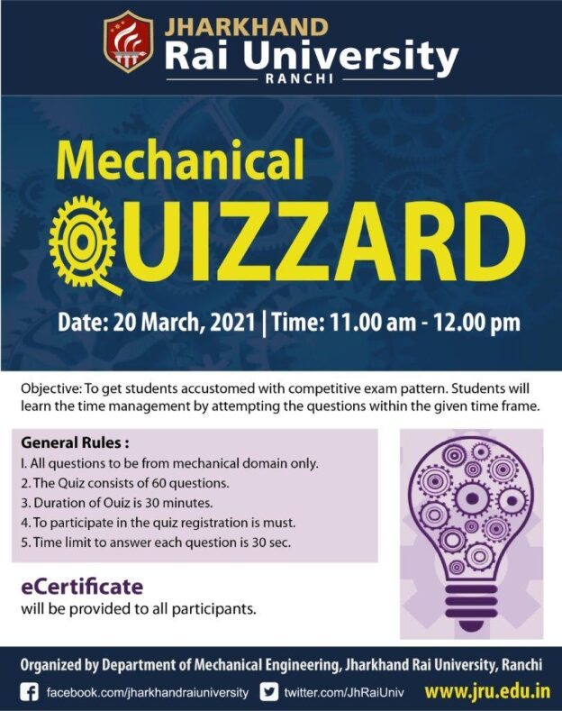 mechanical Quiz 2021-02-02