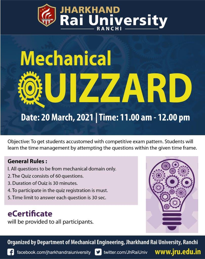 Mechanical QUIZZARD