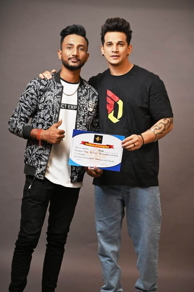 झारखण्ड राय यूनिवर्सिटी के माइनिंग इंजीनियरिंग स्टूडेंट दीपक सिंह ड्रीम बिग सीजन वन फोटोशूट में चयनित