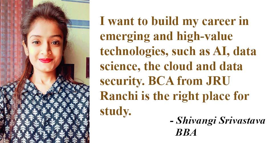 BCA Shivangi Srivastava Wbsite